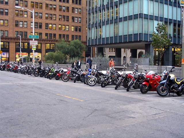 San Francisco Motorcycle Parking